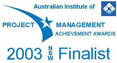 PMAA 2003 Finalist