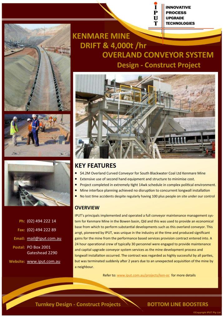 iPUT_ProjectSheet-KenmareOverlandConveyor